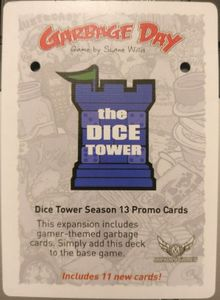 Garbage Day: Dice Tower Promo Pack