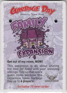 Garbage Day: Family Expansion