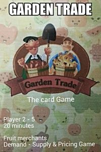 Garden Trade: The card game