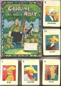 Gasoline Alley Card Game