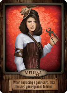 Gearworks: Melissa Promo Card
