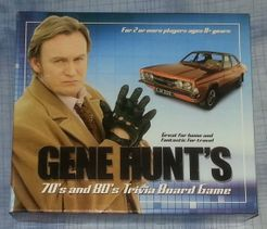 Gene Hunt's 70's and 80's Trivia Board Game