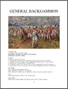 General Backgammon