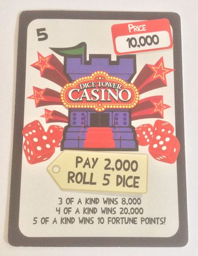 Get Rich Quick: Dice Tower Casino Promo