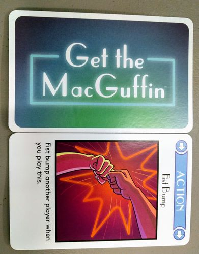 Get the MacGuffin: Fist Bump