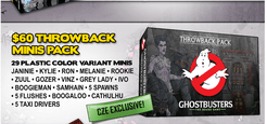 Ghostbusters: The Board Game – Throwback Minis Pack