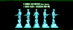 Ghostbusters: The Board Game – Zombie Taxi Drivers