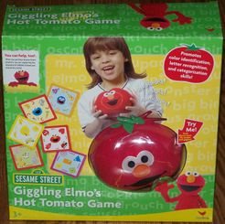 Giggling Elmo's Hot Tomato Game