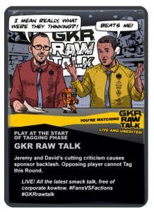 GKR: Heavy Hitters – Raw Talk