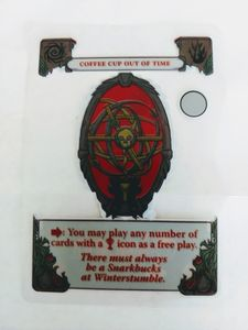 Gloom: Coffee Cup Out of Time Promo Card