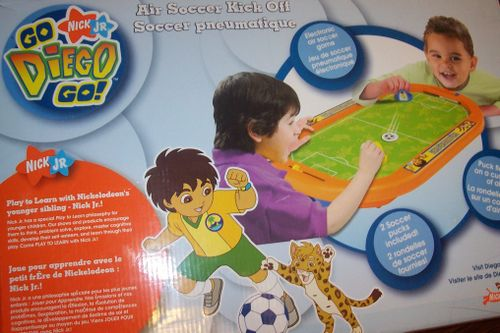 Go Diego Go: Air Soccer Kick Off