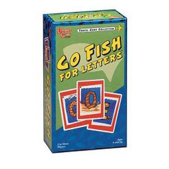 Go Fish For Letters