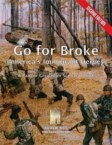 Go For Broke: America's Immigrant Heroes – A Panzer Grenadier Scenario Book