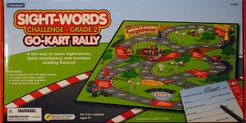 Go-Kart Rally Sight-Words Game: Grade 2
