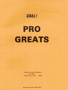 Goal! College/Pro Football Greats