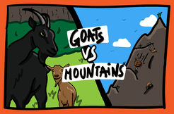 Goats vs Mountain