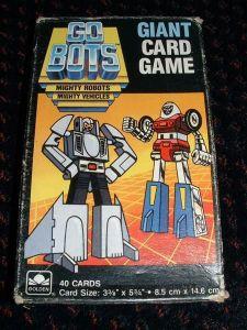 GoBots GIANT Card Game
