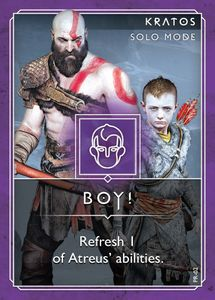 God of War: The Card Game – Boy!