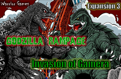 Godzilla Rampage: Invasion of Gamera Supplement