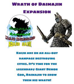 Godzilla Rampage: Kaiju Unleashed – The Wrath of Daimajin Supplement
