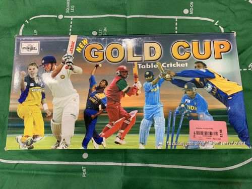 Gold Cup Table Cricket