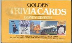 Golden Trivia Cards: Disney Edition