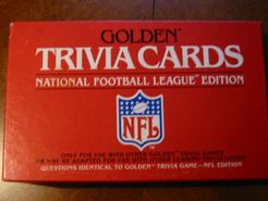 Golden Trivia Cards: National Football League Edition