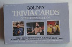 Golden Trivia Cards: Star Trek Edition