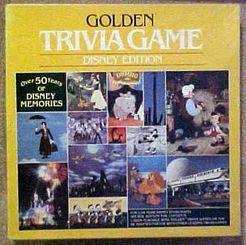 Golden Trivia Game: Disney Edition