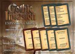 Gothic Invasion: Cards Expansion 1