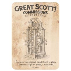 Great Scott!: Commissions