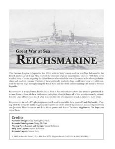 Great War at Sea: Reichsmarine