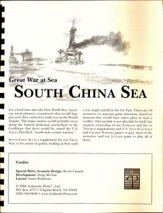 Great War at Sea:  South China Sea