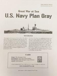 Great War at Sea: U.S. Navy Plan Gray