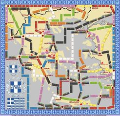 Greece (fan expansion to Ticket to Ride)