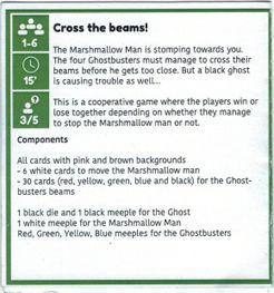Green Box of Games: Cross the Beams