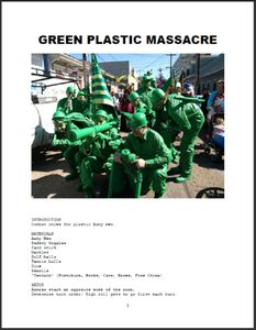 Green Plastic Massacre