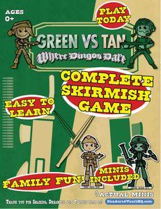 Green vs Tan: Where Dingo's Dare