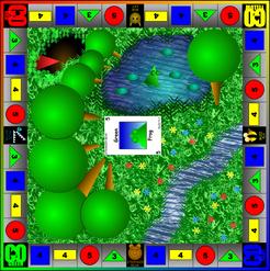 GreenFrogRedFox Game