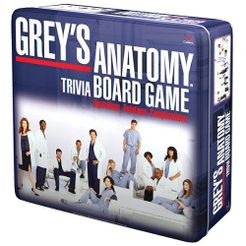 Grey's Anatomy Trivia Board Game