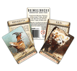 Grimslingers: Character Card Pack