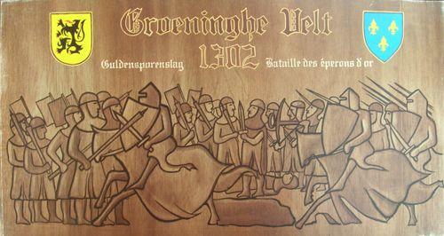 Groeninghe Velt 1302 Guldensporenslag