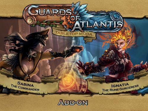 Guards of Atlantis: Sabina & Ignatia character pack