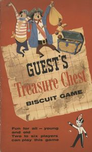Guest's Treasure Chest Biscuit Game