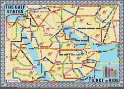 Gulf States (Fan expansion of Ticket to Ride)