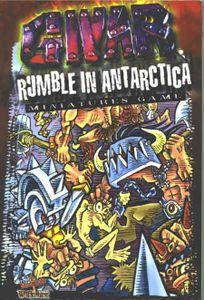 GWAR Rumble In Antarctica Miniatures Rules