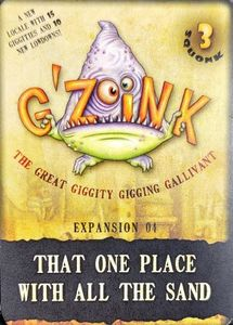 G'Zoink: Expansion 04 – That One Place With All The Sand
