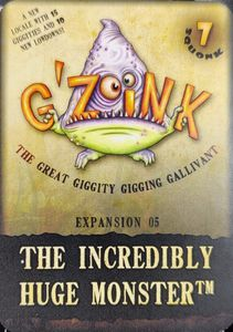 G'Zoink: Expansion 05 – The Incredibly Huge Monster
