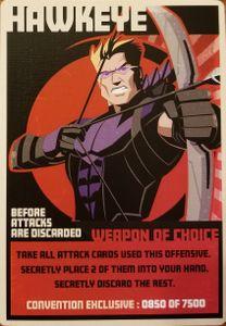 Hail Hydra: Hawkeye Promo Card