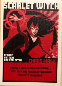 Hail Hydra: Scarlet Witch Promo Card